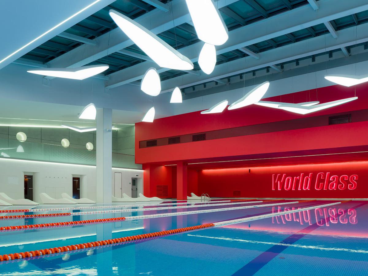 Светодиодное освещение Фитнес-клуб в Москве