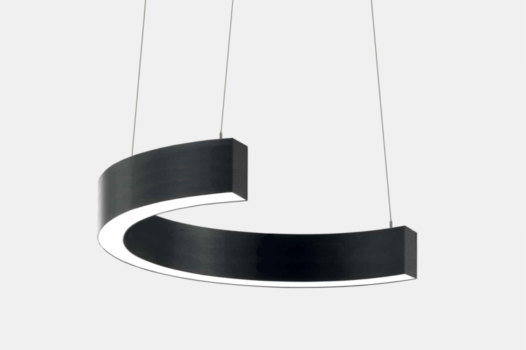 Серия Ring-C. Светодиодный светильник-полукольцо купить во Владимире